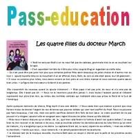 Les 4 Filles Du Docteur March Cm2 Recit Lecture Pass Education