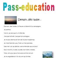 Demain Dès Laube Cm2 Poésie Pass Education