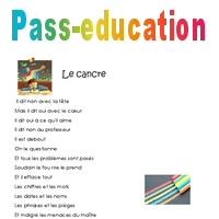 Le Cancre Cm1 Poésie Pass Education