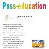Vent Dautomne Cm1 Poésie Pass Education