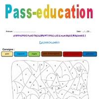 Ponctuation Ce1 Coloriage Magique Pass Education