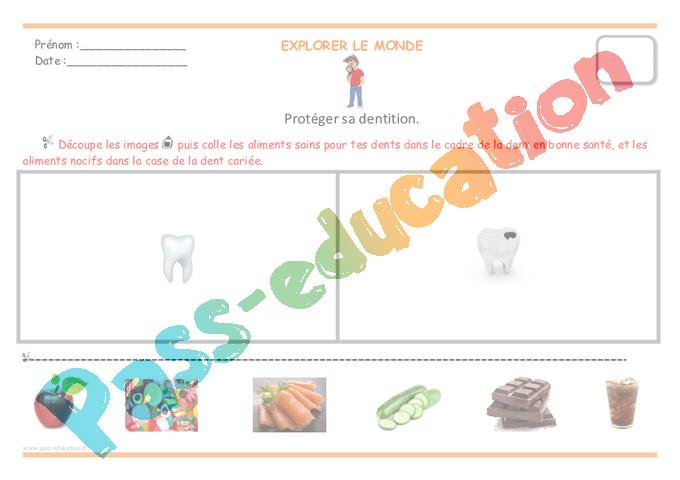 Extrêmement Dents - Grande section - GS - Séances, séquence - Pass Education MW27