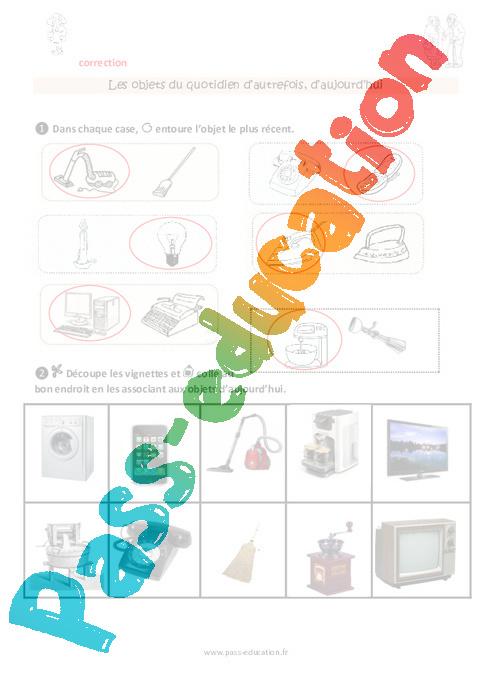 objets du pass ce1 plan de s quence pass education. Black Bedroom Furniture Sets. Home Design Ideas
