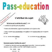 Qu Est Ce Qu Un Attribut Du Sujet Pass Education