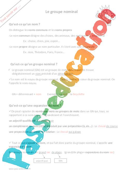 expansion du groupe verbal pdf
