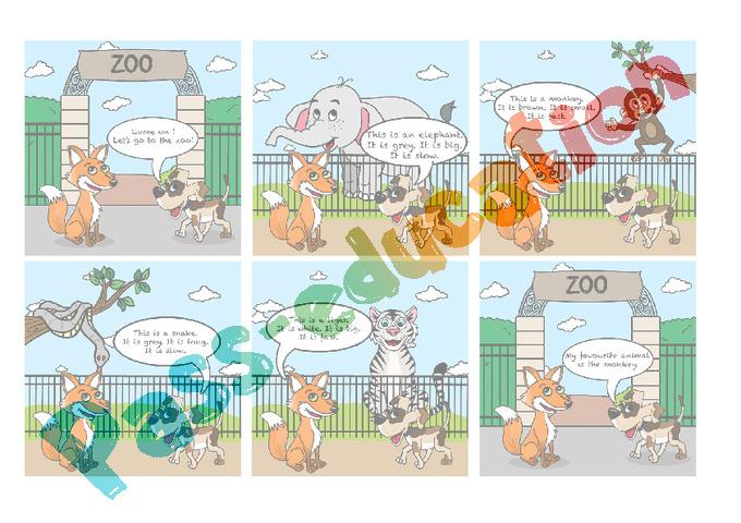 Décrire un animal - CE1 - Anglais - Pass Education