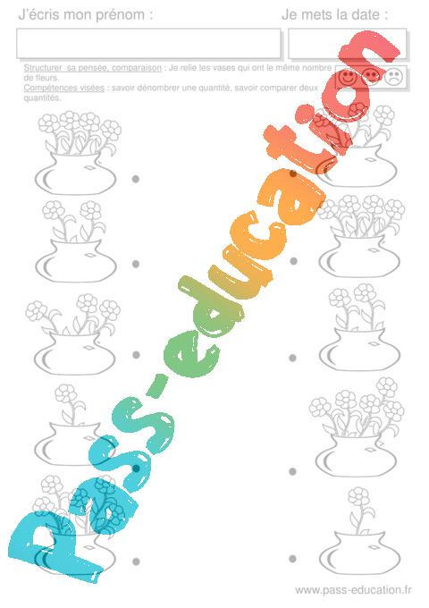 Coloriage Magique Printemps Ms.Mathematiques Printemps Ms Moyenne Section Pass Education