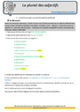 Leçon et exercice : Accord de l'adjectif qualificatif : CM2