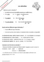 Leçon et exercice : Adverbes : CM1