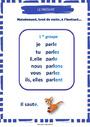 Affichage pour la classe Conjugaison : CE1