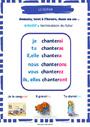 Affichage pour la classe Futur de l'indicatif : CM1