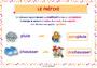 Affichage pour la classe Vocabulaire : CE2