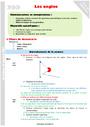 Leçon et exercice : Angles : CM1