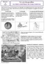 Leçon et exercice : Arts du quotidien : CM2