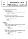 Cours Calculs : 5ème