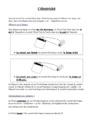 Leçon L'électricité : CM1