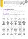 Leçon Mots outils, invariables : CM2