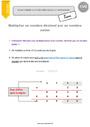 Leçon Multiplication : CM2