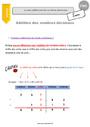 Leçon Nombres décimaux : CM1