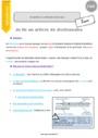 Leçon Ordre alphabétique / Dictionnaire : CM2