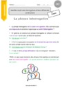 Leçon Phrase / Types de phrase : CE2