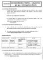 Cours Propositions subordonnées : 3ème
