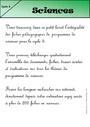Leçon Sciences et technologie : CE2