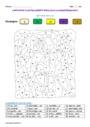 Coloriage magique - Etude du code / les sons : CM2