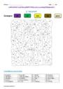 Coloriage magique - Imparfait de l'indicatif : CE2