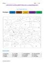 Coloriage magique - Mots étiquettes : CE2