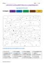Coloriage magique - Nature et fonction : CM2