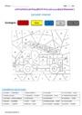 Coloriage Magique Passe Compose Cm1 Cycle 3 Pass Education