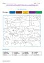 Coloriage magique - Passé, présent, futur : CE1