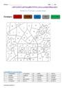 Coloriage magique - Passé simple : CM1