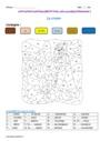 Coloriage magique - Présent de l'indicatif : CM1