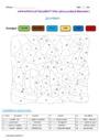 Coloriage magique - Présent de l'indicatif : CM2