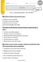 Leçon et exercice : Complément d'objet COI, COD, COS : CM2