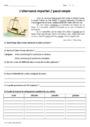 Leçon et exercice : Concordance des temps : CM1