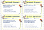Leçon et exercice : Cuisine de grammaire : CM2