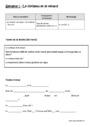 Leçon et exercice : Dictée préparée / Dictée à trous : CE1