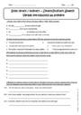 Cours et exercice : Discours indirect prétérit - Anglais : 3ème