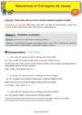 Evaluation Anglais : CP