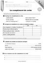 Evaluation Complément du verbe : CE2