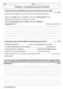 Evaluation Conjugaison : 4ème