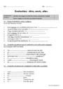 Evaluation Conjugaison : CE2