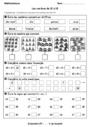 Evaluation Nombres de 11 à 19 : CP