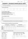 Evaluation Numération : CE2
