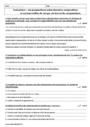 Evaluation Propositions subordonnées : 4ème