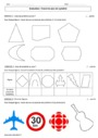 Evaluation Symétrie axiale : 6ème