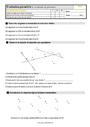 Evaluation Vocabulaire de géométrie : CE2